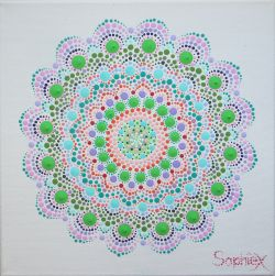Mandala On A White Background «Revival»